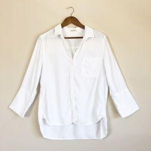 3/$30 Bella Dahl White Button Down Shirt 89